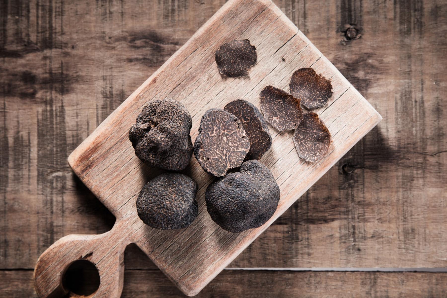 Black Winter Truffles