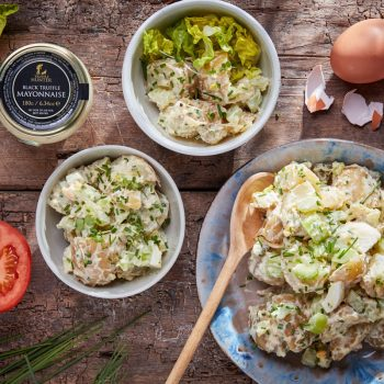 American Style Summer Truffle Potato Salad