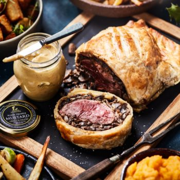 Beef Wellington with Black Winter Truffles