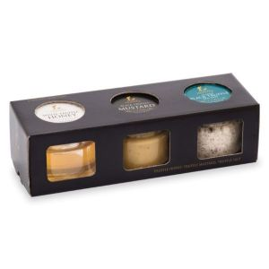 Truffle Condiment Selection - Truffle Honey, Truffle Salt, Truffle Mustard