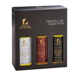 Black, White & English Truffle Oil Set (3 x 100ml) - Marinading & Seasoning