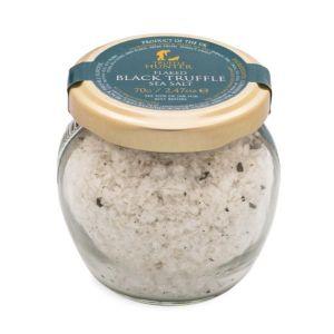 Flaked Black Truffle Sea Salt - Gourmet Food Seasoning Condiment