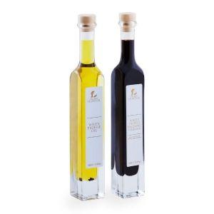 White Truffle Oil & Balsamic Vinegar Gift (2 x 100ml) - Marinading & Seasoning