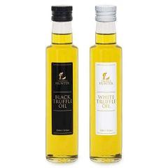 Black & White Truffle Oil (2 x 250ml) - Marinading & Seasoning - Olive Oil