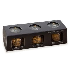 Preserved Truffle Selection Minced Black Truffle, Truffle Slices & Truffle Sauce