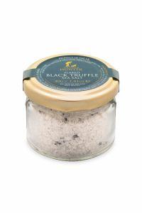Flaked Black Truffle Sea Salt (40g) - Gourmet Food Seasoning Condiment