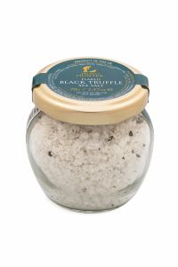 Flaked Black Truffle Sea Salt (70g) - Gourmet Food Seasoning