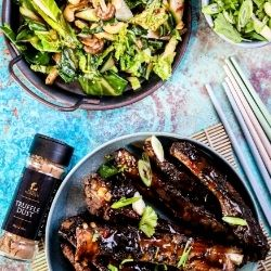 Chinese Ribs with Truffle Dust and Five Spice