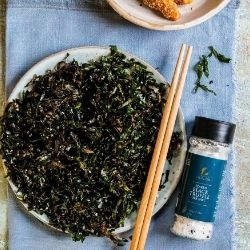 Crispy Seaweed with Black Truffle Salt