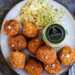 Truffle Celeriac Croquettes