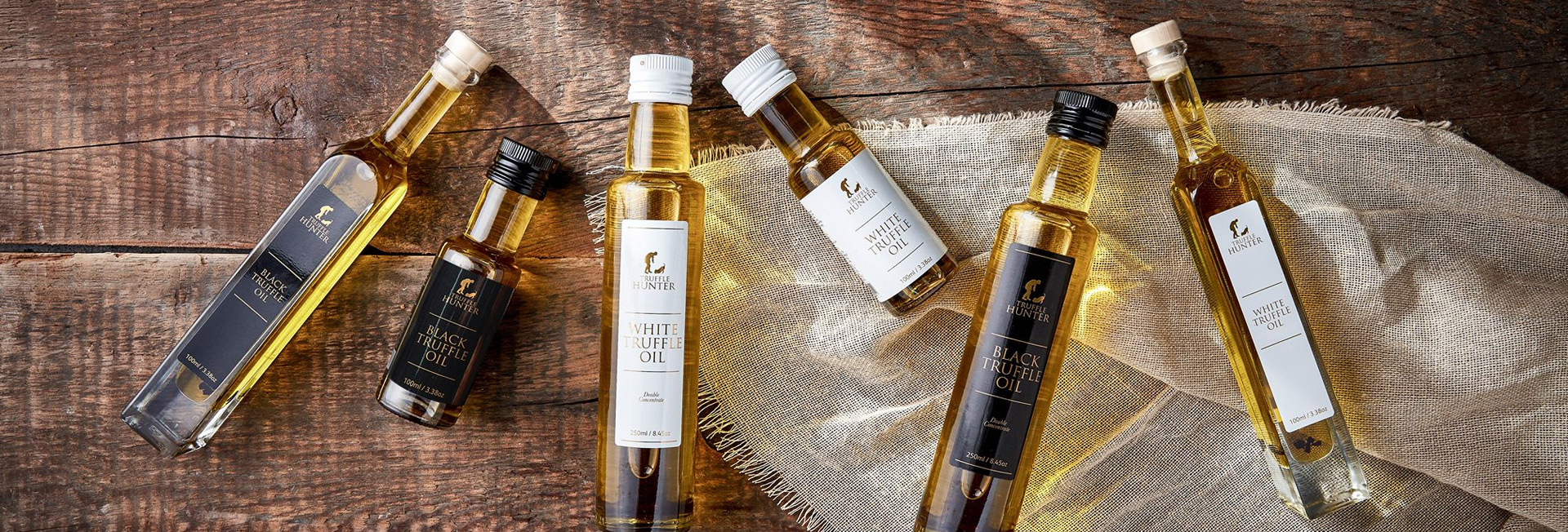 Homepage - Truffle Oils & Vinegar