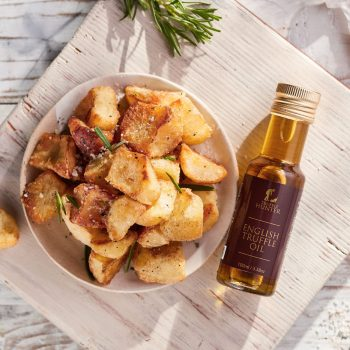 Roast Potatoes and English Truffle Oil